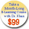 Badrul Khan teaches month-long e-learning courses with discounted rate of US $99