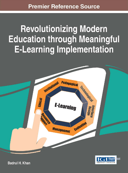 Revolutionizing Modern Education through Meaningful E-Learning Implementation. Click o continue.