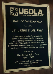 Image of USDLA Hall of Fame Award